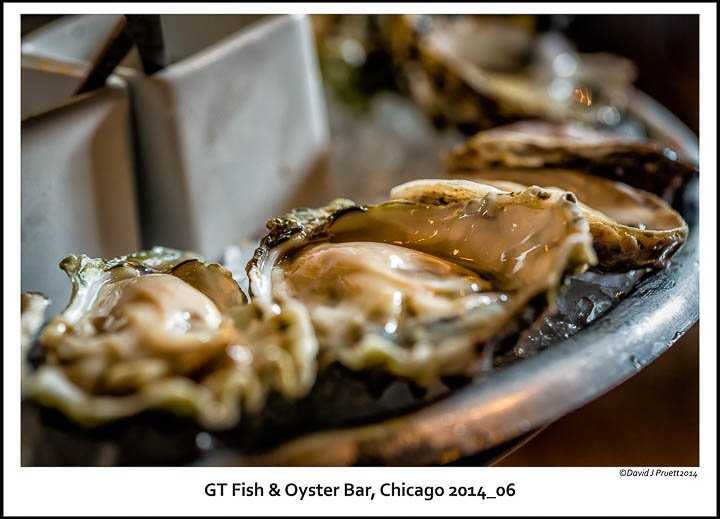 Gt fish oyster bar chicago june 2014 for Gt fish and oyster chicago