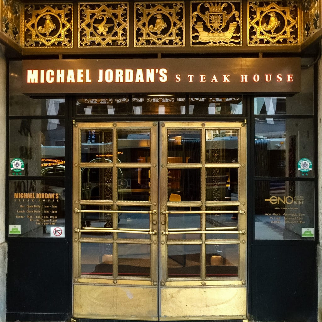 Michael Jordan's Steakhouse, Chicago 2014_10